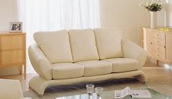 Белый диван – стиль минимализма
