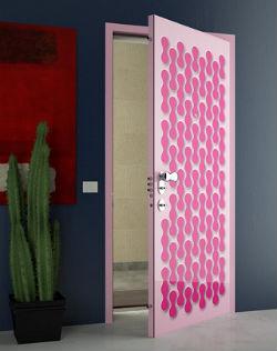 Как декорировать межкомнатные двери