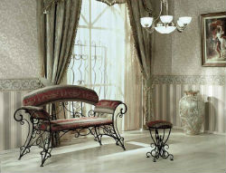Кованая мебель в вашем доме