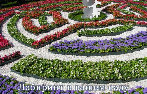 Лабиринт в вашем саду