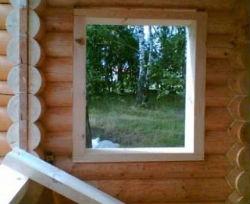 Какие окна следует устанавливать в бане?