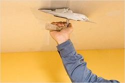 Отделка и выравнивание потолка