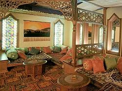 Гостиная: восточный стиль в интерьере